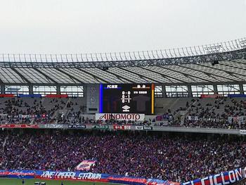 東京 0-1 仙台