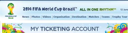 W杯ブラジル2014