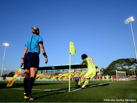 FIFAU-17 Women's World Cup Costa Rica 2014 Semi Final