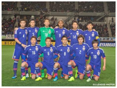 ミャンマー戦 U-22日本代表