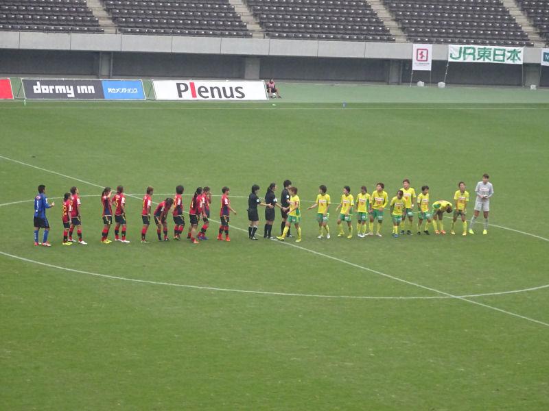 試合終了後の握手