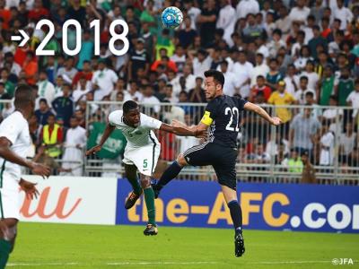 ロシアW杯予選 サウジアラビア戦