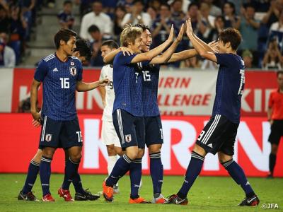 日本代表vsコスタリカ代表