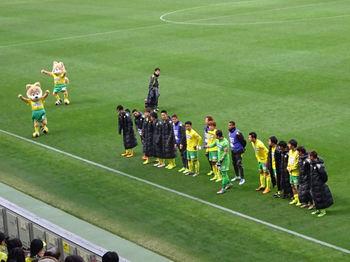 試合終了後の挨拶