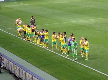 試合後の挨拶